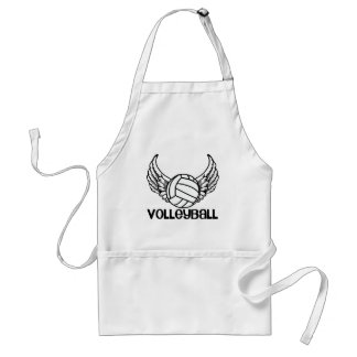 Volleyball with Wings Adult Apron