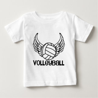 Volleyball with Wings Baby T-Shirt