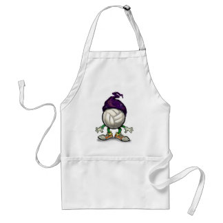 Volleyball Wizard Adult Apron