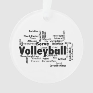 Volleyball Word Cloud