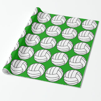 Volleyball Gift Wrapping Paper