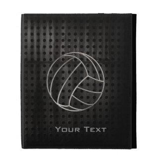 Volleyballl Cool Black iPad Folio Case