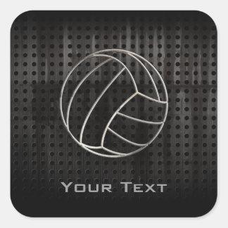 Volleyballl Cool Black Stickers