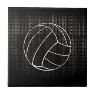 Volleyballl; Negro fresco Teja Ceramica