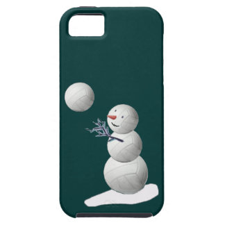 Volleyballl Snowman iPhone SE/5/5s Case