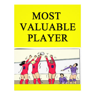 VOLLEYballmost valuable player Flyer