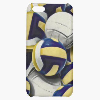 Volleyballs Collage iPhone 5C Case