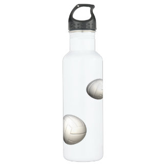 Volleyballs Stainless Steel Water Bottle