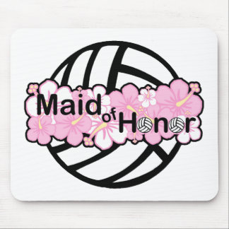 VolleyBride Maid of Honor Mouse Pad
