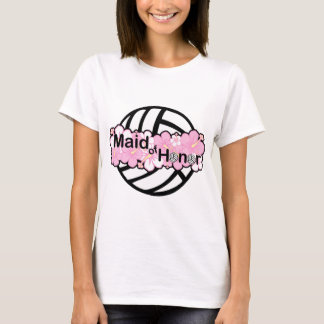 VolleyBride Maid of Honor T-Shirt