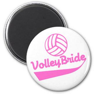 VolleyBride Swoosh Magnet
