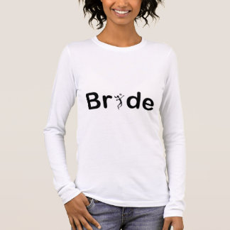 VolleyBride Text Long Sleeve T-Shirt