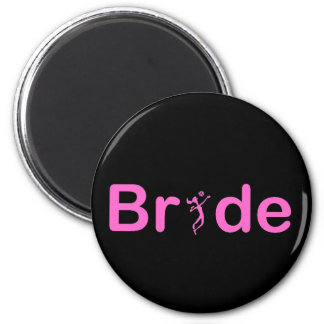 VolleyBride Text Magnet