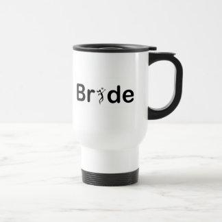 VolleyBride Text Coffee Mug