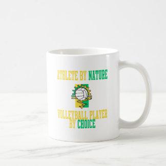 VolleyChick Athlete by Nature Coffee Mug