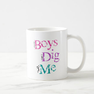 VolleyChick Boys Dig Me Coffee Mug