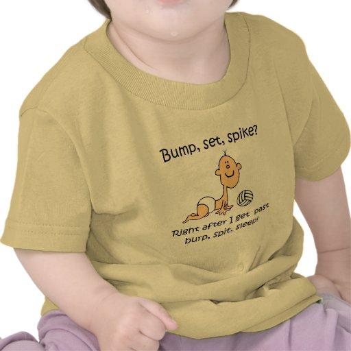 VolleyChick Bump Set Spike T Shirt