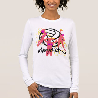 VolleyChick Curt Long Sleeve T-Shirt