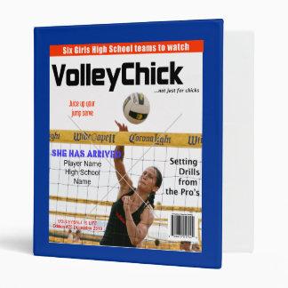 VolleyChick Custom Magazine Cover Binder