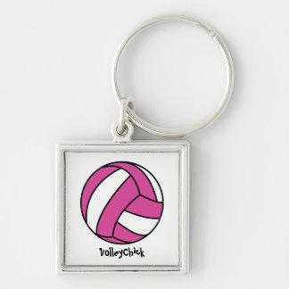 VolleyChick (customizable) Keychain