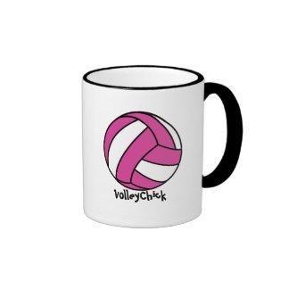 VolleyChick (customizable) Coffee Mugs