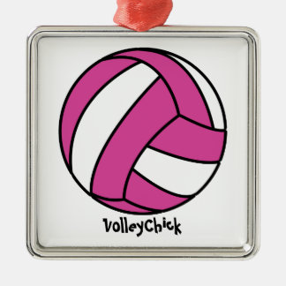 VolleyChick (customizable) Christmas Ornaments
