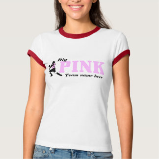 VolleyChick Dig Pink5, Dig T-Shirt
