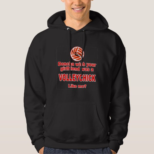 VolleyChick Doncha Hoodie