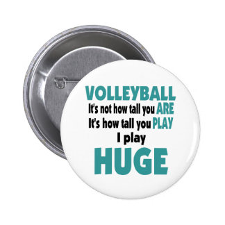 VolleyChick enorme Pin