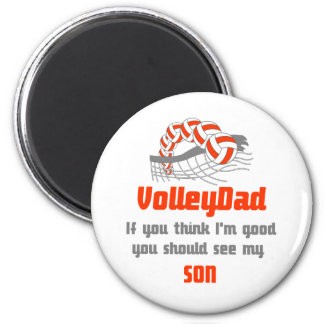 VolleyChick Family You should see Dad/Son Magnet