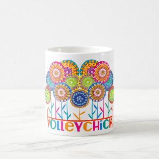 VolleyChick Fleur Mugs