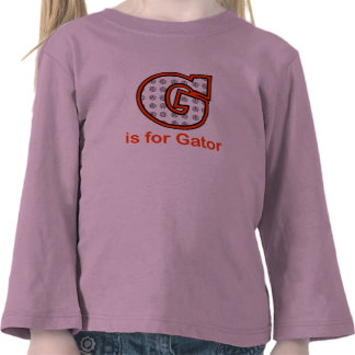 VolleyChick G is for Gator T-shirt