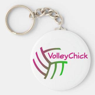 VolleyChick Gradient Keychain