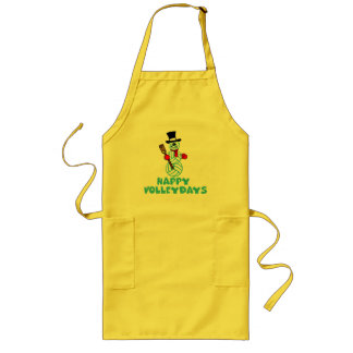 VolleyChick Happy Volleydays Long Apron