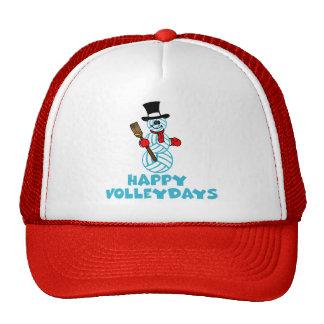 VolleyChick Happy VolleyDays Snowman Mesh Hats