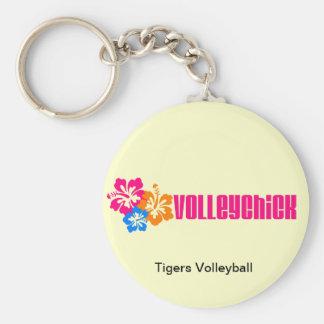 VolleyChick Hibtastic Keychain
