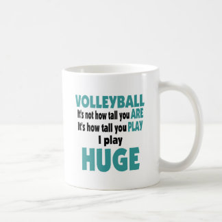 VolleyChick Huge Coffee Mug