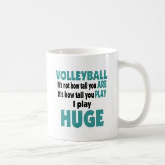 VolleyChick Huge Coffee Mug