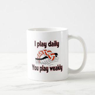 VolleyChick I play Daily Coffee Mug