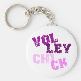 VolleyChick Krakked Keychain