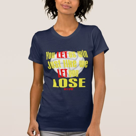 VolleyChick Let T-Shirt