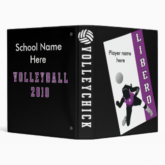 VolleyChick Libero Binder