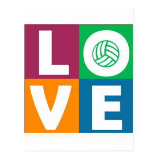 VolleyChick Love Postcards