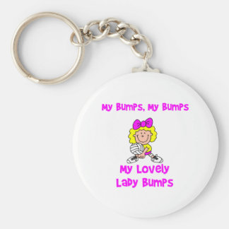 VolleyChick My Bumps Keychain