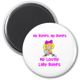 VolleyChick My Bumps Magnet