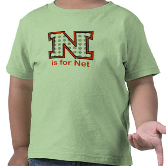 VolleyChick N is for Net Tees