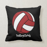 VolleyChick (personalizable) Cojin
