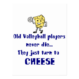 VolleyChick s Cheese Postcards