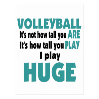 VolleyChick s Huge Post Card