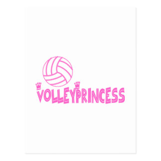VolleyChick s Princess Postcard